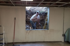 Sawing and Concrete Cutting - Process of Installing an Egress Window in a Basement in Green Bay, WI