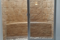 Interior Tan Rockwell Window Well - Process of Installing an Egress Window in a Basement in Green Bay, WI