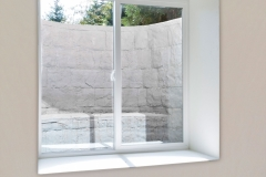 Gray Rockwell Window Well - Basement Finished Egress Window Installation in Green Bay, WI
