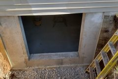 Concrete Cutting - Process of Installing an Egress Window in a Basement in Pulaski, WI