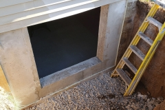 Concrete  Cutting - Process of Installing an Egress Window in a Basement in Green Bay, WI