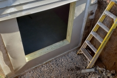 Window Wrap - Process of Installing an Egress Window in a Basement in De Pere, WI