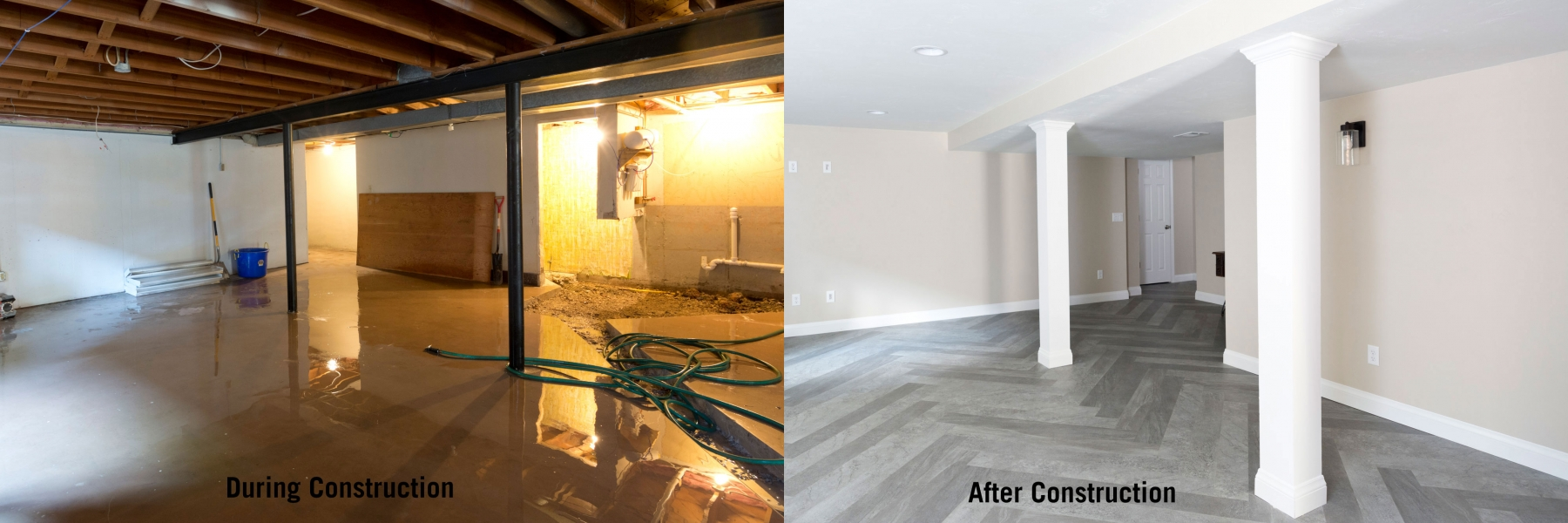 Finishing Or Remodeling Basement Construction Services In Green Bay Wi