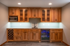 Basement Bar Finishing and Remodeling by General Contractor in Green Bay, WI