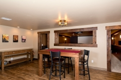 Basement Finishing and Remodel General Contractor Snack Room / Game Room in De Pere, WI
