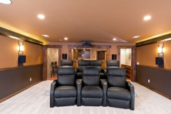Basement Finishing and Remodeling Sound Proof Home Theater Seating in De Pere, WI