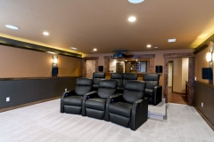 Basement Finishing and Remodeling Sound Proof Home Theater in De Pere, WI
