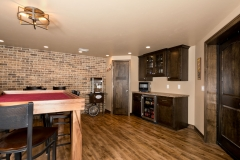 Basement Finishing and Remodel General Contractor Snack Room / Game Room in Green Bay, WI