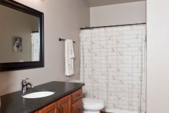 Basement Bathroom Construction by Green Bay Contractor Basements Unlimited