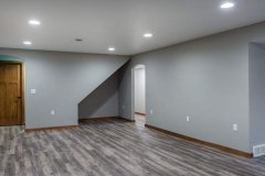 Basement Recreation Room Finishing and Remodeling by General Contractor in Green Bay, WI