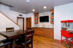 Basement Home Bar Finishing / Remodeling Living Room in Green Bay, WI