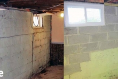 Basement Wall Foundation Repair in De Pere, WI