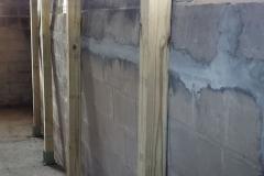 Before Basement Foundation Repair in Green Bay, WI