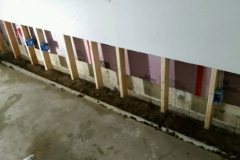 Repairing Wet Basements with Interior Perimeter Drain Tile in Green Bay, WI