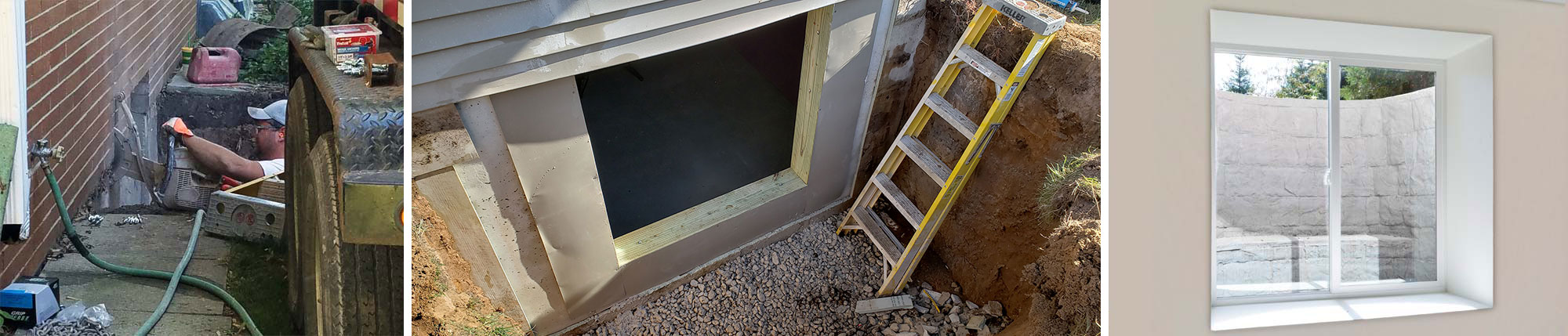 Basement Egress Window Installation and Concrete Cutting in Green Bay and Appleton, WI